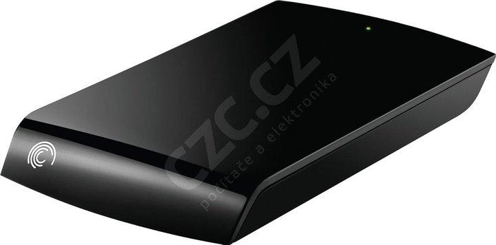 Seagate Expansion Portable - 500GB, černý