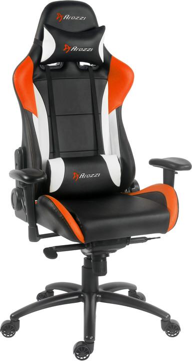 Arozzi Verona Pro, černá/oranžová