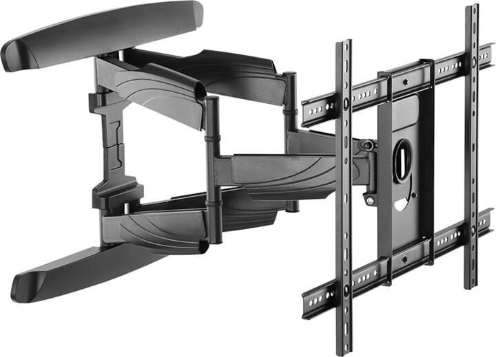 Stell SHO 7620 SLIM, výsuvný držák TV, černá