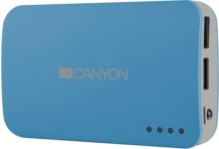 Canyon CNE-CPB78 Power Bank 7800mAh, modrá