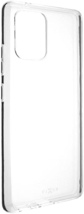 FIXED Skin ultratenké TPU gelové pouzdro pro Samsung Galaxy S10 Lite, čirá