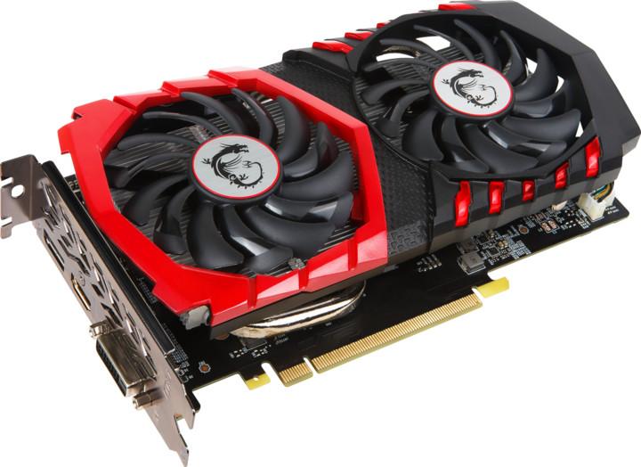 MSI GeForce GTX 1050 Ti GAMING 4G, 4GB GDDR5