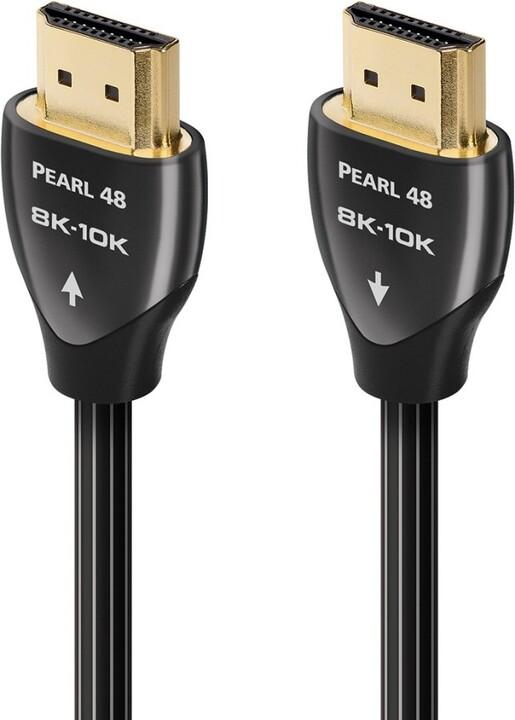 Audioquest kabel Pearl 48 HDMI 2.1, M/M, 10K/8K@60Hz, 0.6m, černá
