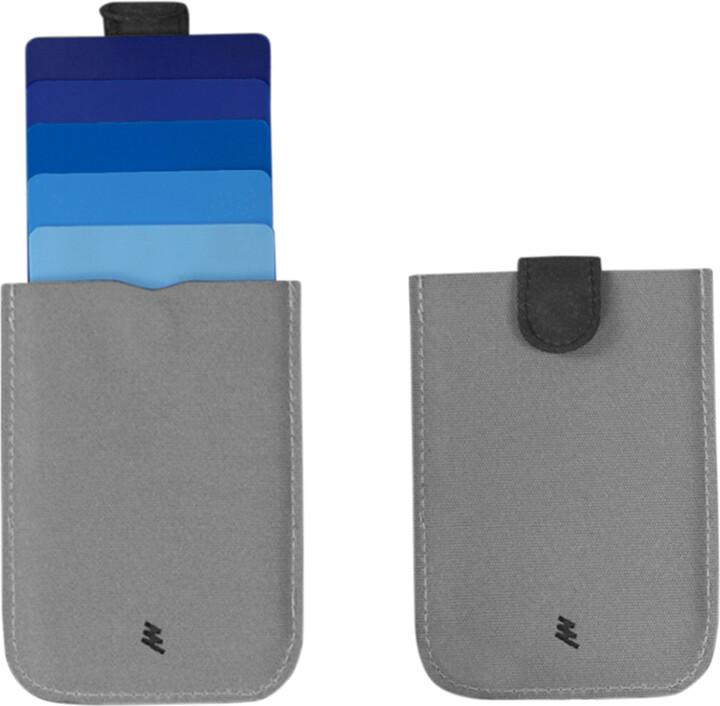 Dax wallet, modrá