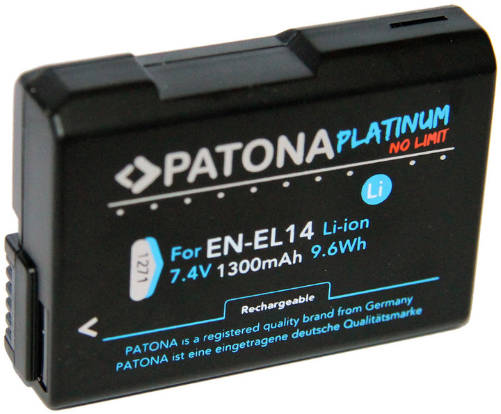 Patona baterie pro foto Nikon ENEL14 1300mAh Li-Ion Platinum