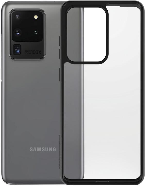 PanzerGlass ClearCase pro Samsung S20 Ultra, černá