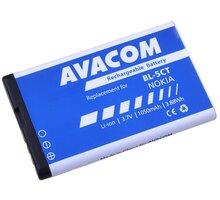Avacom baterie do mobilu Nokia 6303/6730/C5, 1050mAh, Li-Ion - GSNO-BL5CT-S1050A