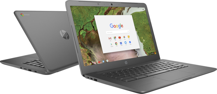 HP ChromeBook 14 G5, šedá