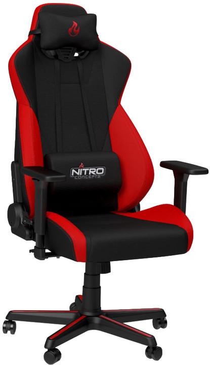 Nitro Concepts S300, černá/červená
