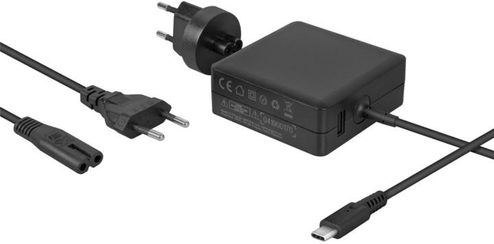 AVACOM nabíjecí adaptér pro notebook, USB-C, PD, 65W