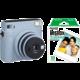 Fujifilm Instax Square SQ1, modrá + film 1x10 O2 TV Sport Pack na 3 měsíce (max. 1x na objednávku)