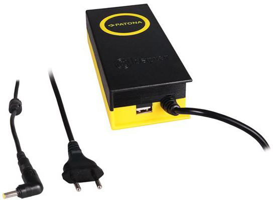 Patona napájecí adaptér k ntb/ 19V/4,7A 90W/ konektor 4,8x1,7mm/ + výstup USB