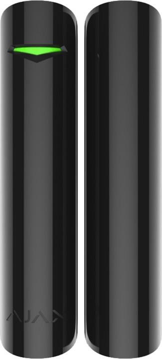 BEDO AJAX DoorProtect Plus - Bezdrátový magnetický kontakt s otřesovým senzorem, černý