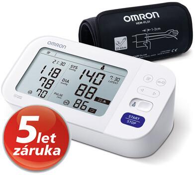 OMRON tonometr M6 Comfort s AFib na paži, digitální