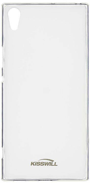 Kisswill TPU pouzdro pro Sony G3221 Xperia XA1 Ultra, transparentní