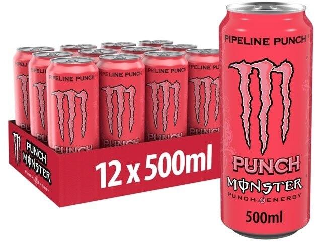 Monster Pipeline Punch, energetický, 500 ml, 12ks