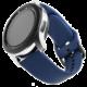 FIXED silikonový řemínek pro smartwatch, šířka 20mm, modrá