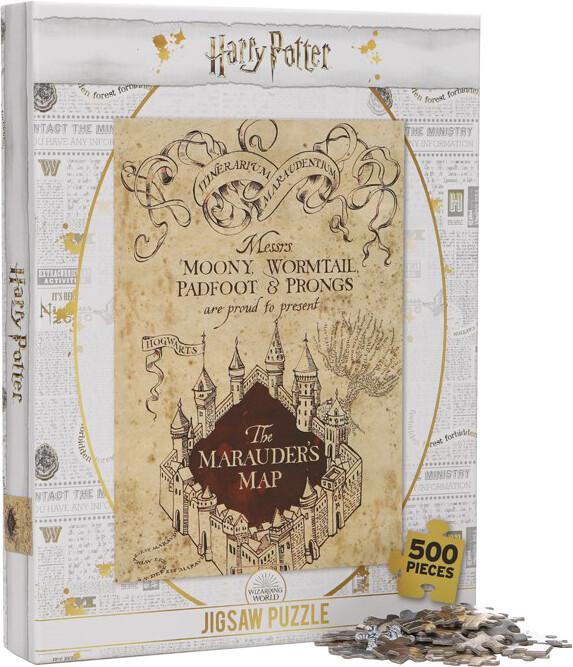 Puzzle Harry Potter - Pobertův plánek