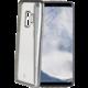 CELLY Laser TPU pouzdro - lemování s matným kovovým efektem pro Samsung Galaxy S9 Plus, stříbrné