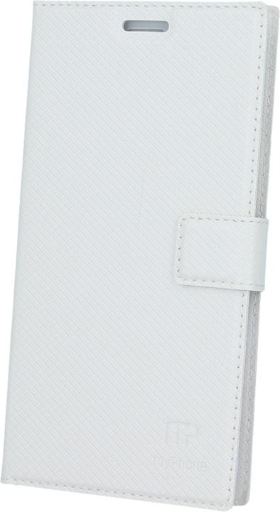 myPhone pouzdro s flipem pro FUN 5, bílé