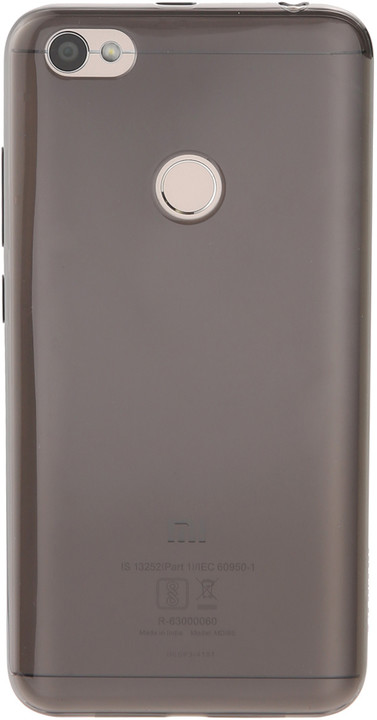 Xiaomi Redmi Note 5A Prime Soft Case Black