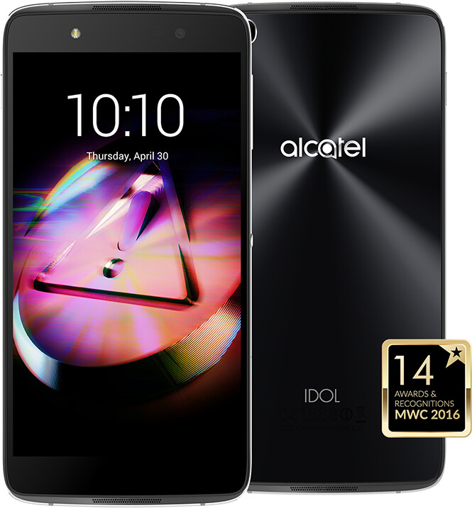 ALCATEL OT-6055K IDOL 4 - VR BOX , šedá