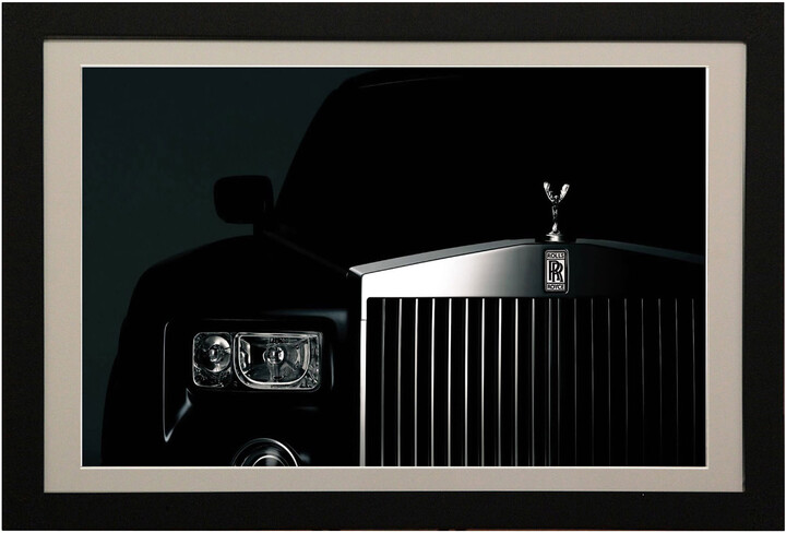 FrameXX PRO 480a digitální fotoobraz, rám černý