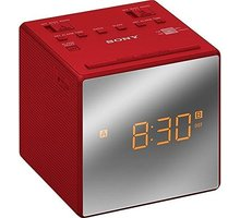 Sony ICF-C1T, červená - ICFC1TR.CED