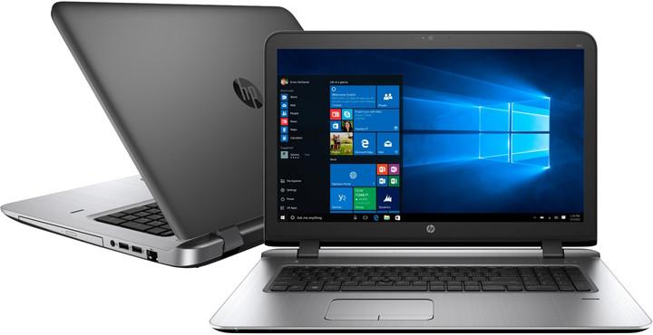 HP ProBook 470 G3, černá