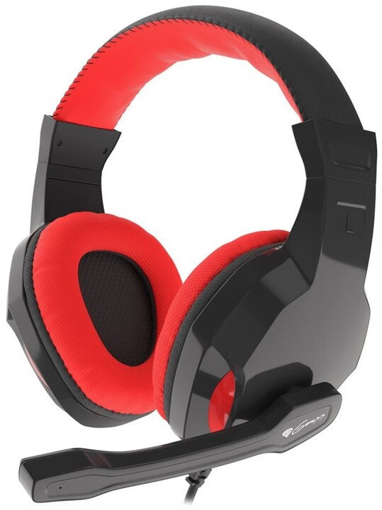 Genesis Argon 100, černá/červená