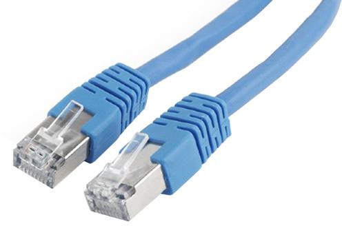 Gembird Cablexpert Patch kabel FTP CAT6, stíněný - 0.5m - modrá