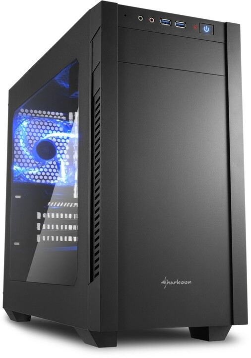 Sharkoon S1000 Window, černá