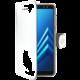 CELLY Wally pouzdro typu kniha pro Samsung Galaxy A8 (2018), bílé