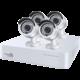 iGET HOMEGUARD HGDVK87704, 8-kanálový FHD DVR + 4x HGPLM828 kamera FHD1080p, IP66