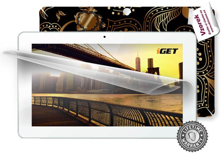 Screenshield ochranná fólie na displej pro iGET Smart S100 + skin voucher
