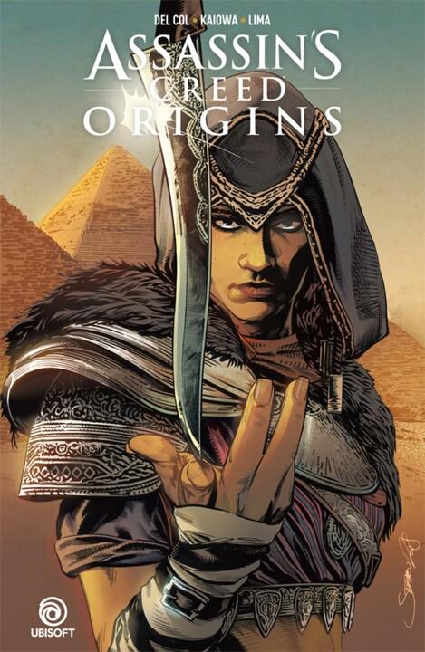 Komiks Assassins Creed: Origins