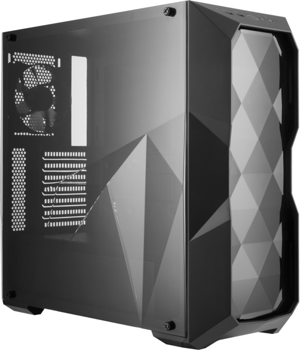Cooler Master MasterBox TD500L, černá, design diamantového řezu
