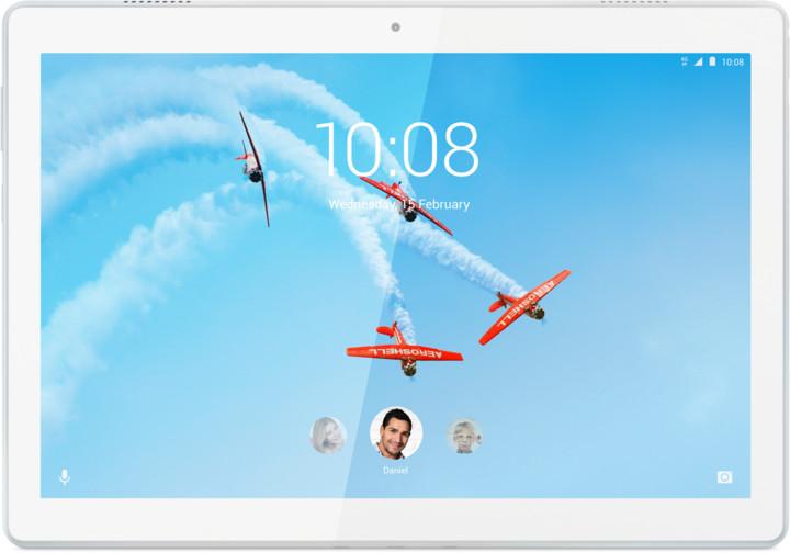Lenovo TAB M10, 3GB/32GB, LTE, bílá