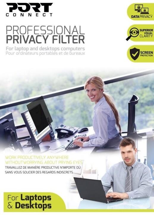 PORT CONNECT PRIVACY FILTER 2D - 24'', 16/9, černý