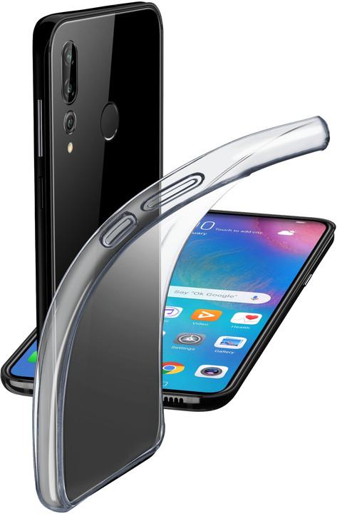 Cellularline extratenký zadní kryt Fine pro Huawei P30 Lite, transparentní