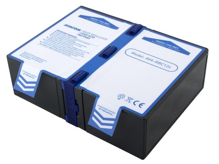 Avacom náhrada za RBC124 (2ks) - baterie pro UPS typu High Rate