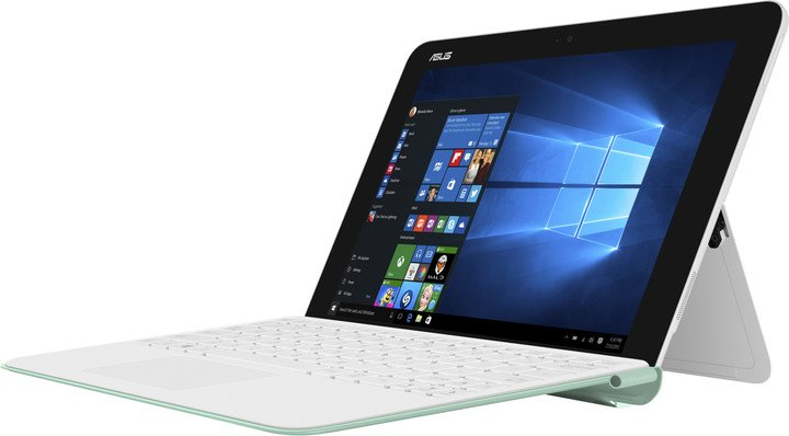 ASUS Transformer Mini T102HA, bílo-zelená