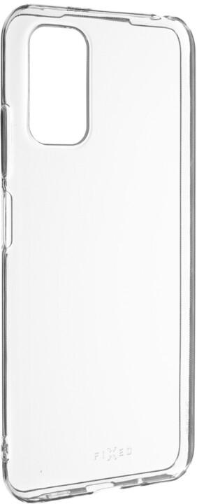 FIXED gelové pouzdro pro Xiaomi Redmi Note 10 5G, čirá