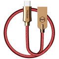 Mcdodo Knight datový kabel USB-C, 1m, červená