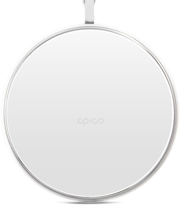 EPICO ultraslim WIRELESS CHARGING PAD 10W/7.5W/5W, bílá