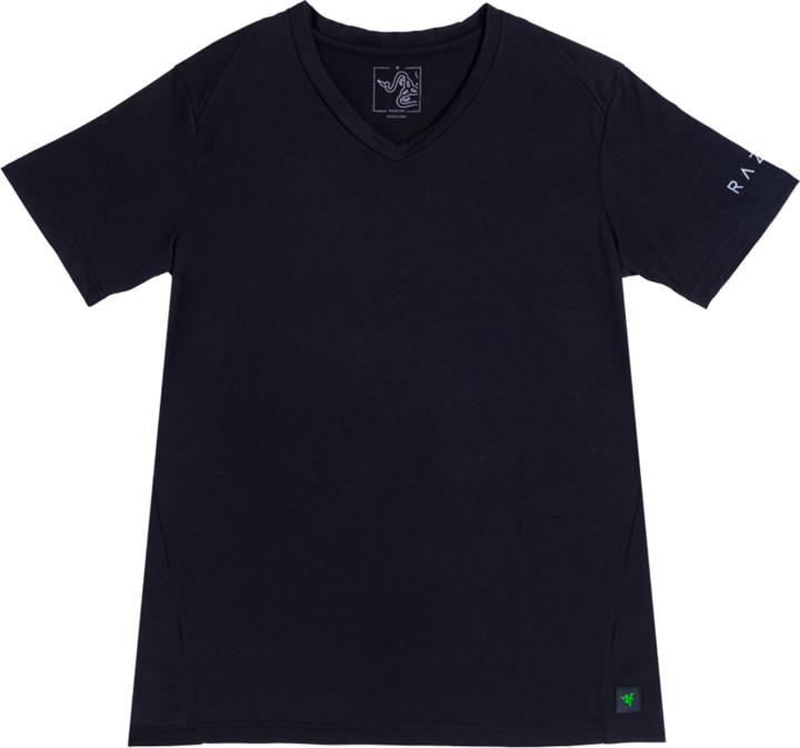 Tričko Razer Elite Vapor V-Neck, černé (L)
