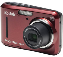 Kodak Friendly zoom FZ43, červená - KOFZ43RD