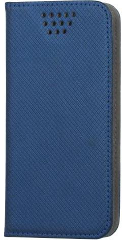 """Forever knížkové pouzdro (smartcase) typ b magnet univerzální 4,5-5,0"""" - modré"""
