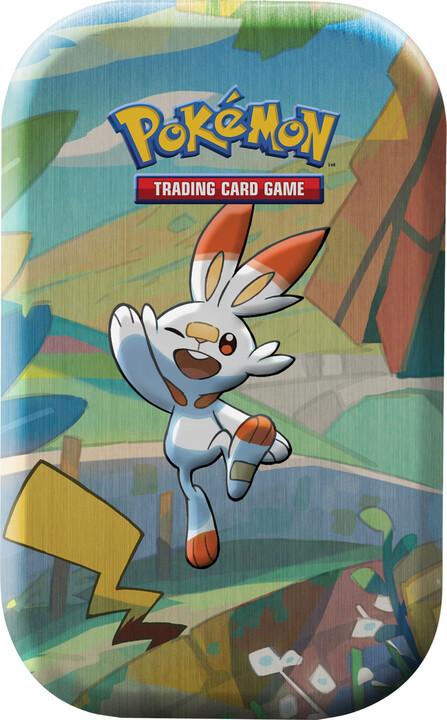 Karetní hra Pokémon TCG: Galar Pal Mini Tin (Scorbunny & Pikachu)