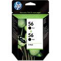 HP C9502AE, no. 56, 2-pack – ušetřete až 20 % oproti standardní náplni